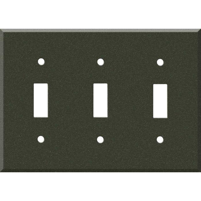 Corian Bronze Patina 3 - Toggle Switch Plates