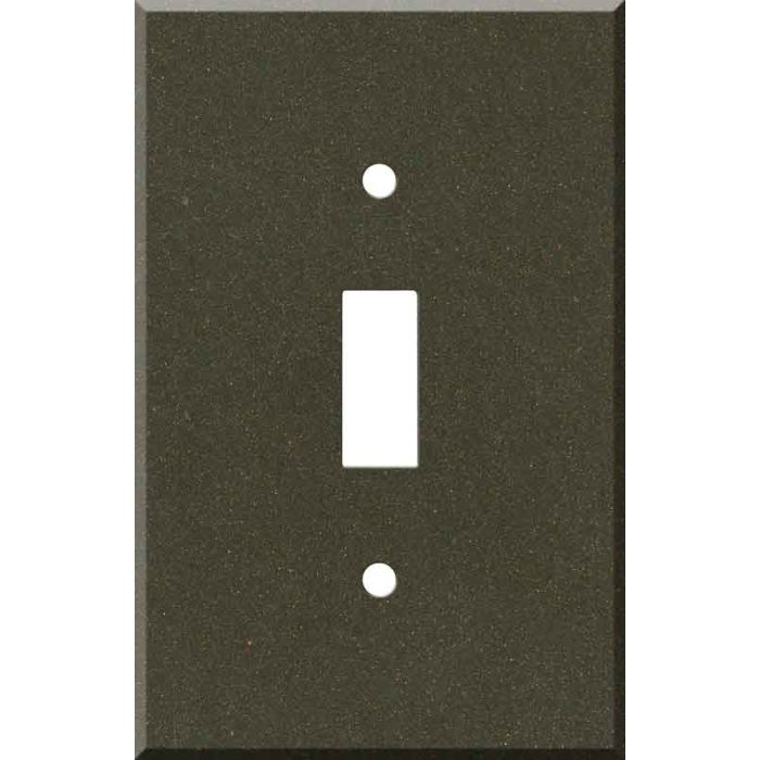 Corian Bronzite Single 1 Toggle Light Switch Plates