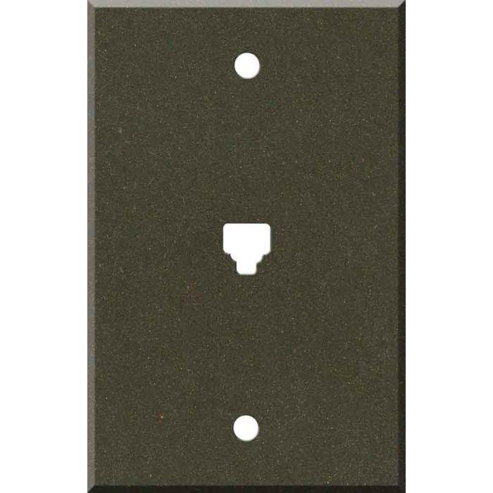 Corian Bronzite 1 Toggle Light Switch Cover