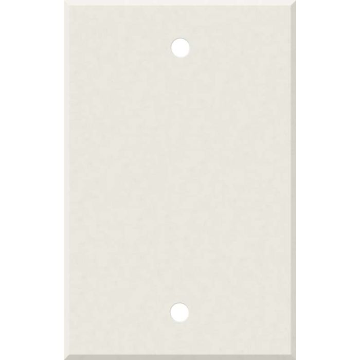 Corian Cameo White Blank Wall Plate Cover