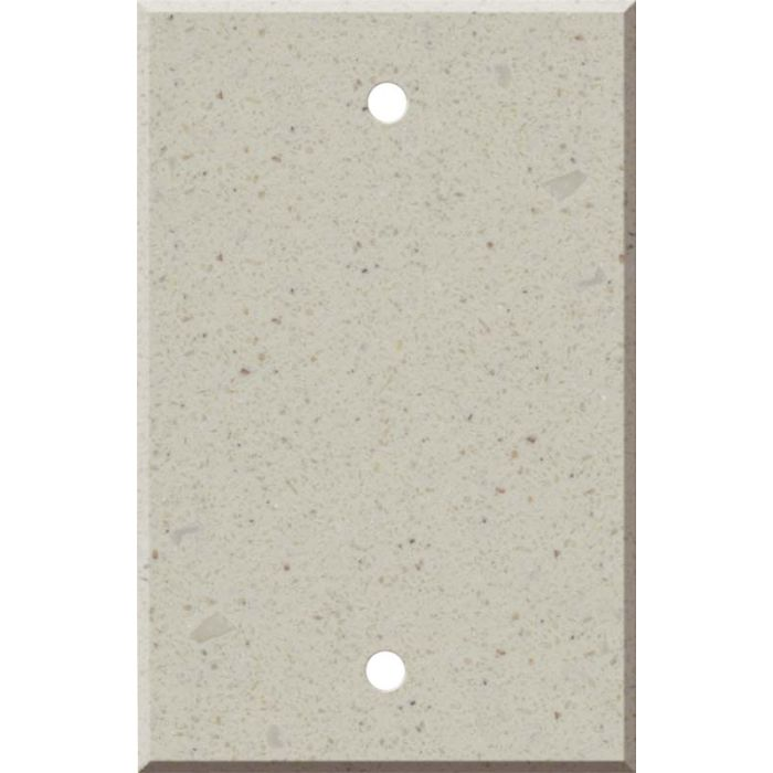 Corian Canvas Blank Wall Plate Cover