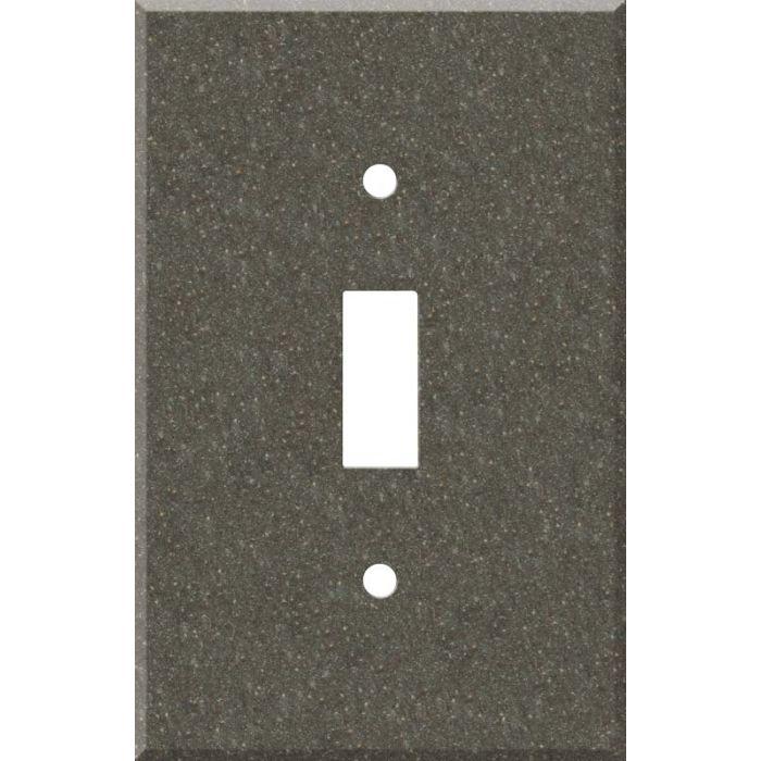 Corian Canyon Single 1 Toggle Light Switch Plates