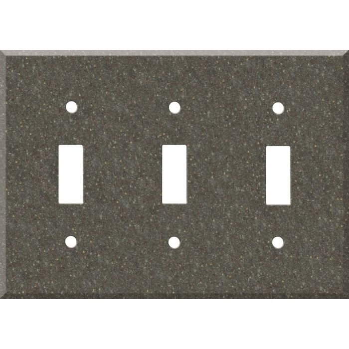 Corian Canyon Triple 3 Toggle Light Switch Covers