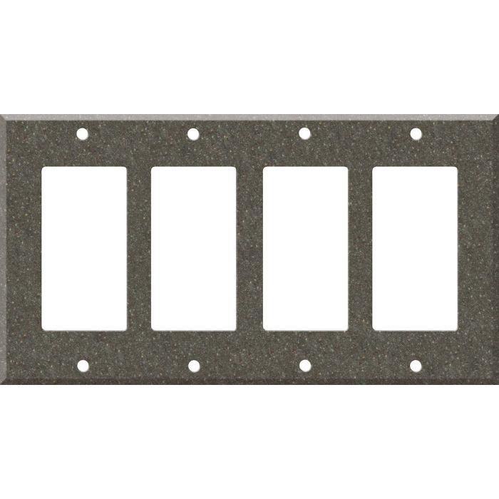 Corian Canyon 4 Rocker GFCI Decorator Switch Plates