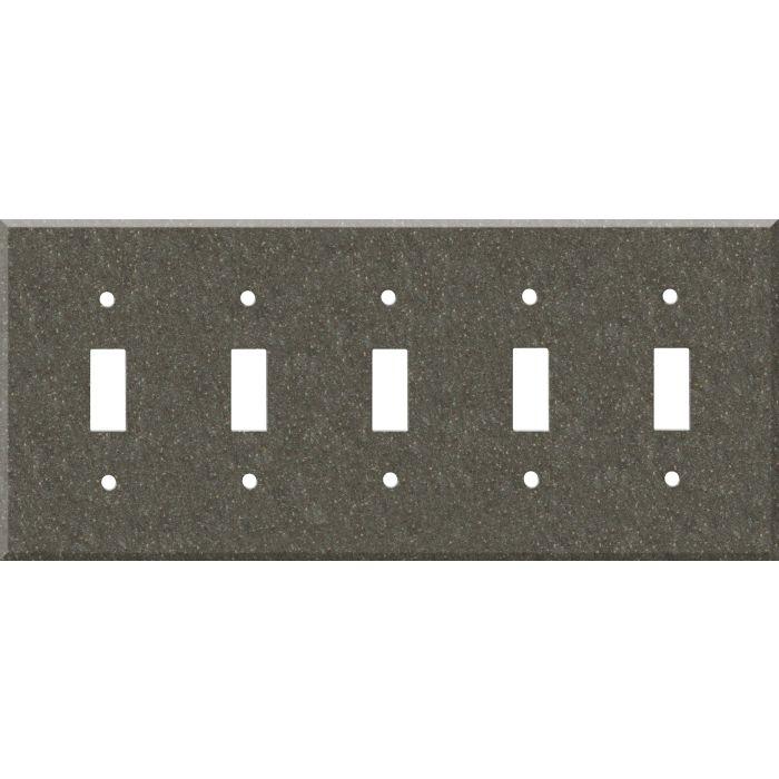 Corian Canyon 5 Toggle Wall Switch Plates