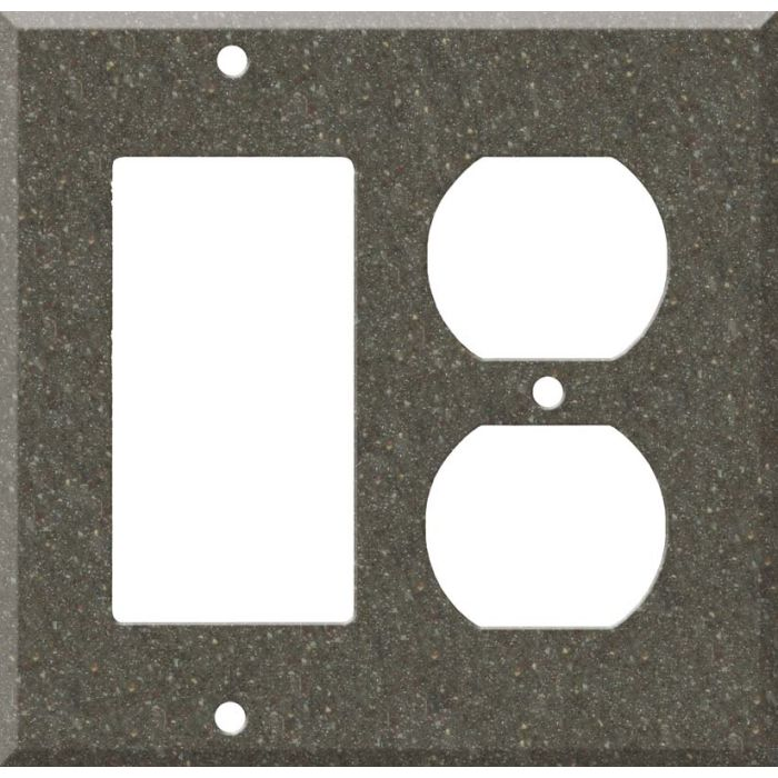Corian Canyon Combination GFCI Rocker / Duplex Outlet Wall Plates