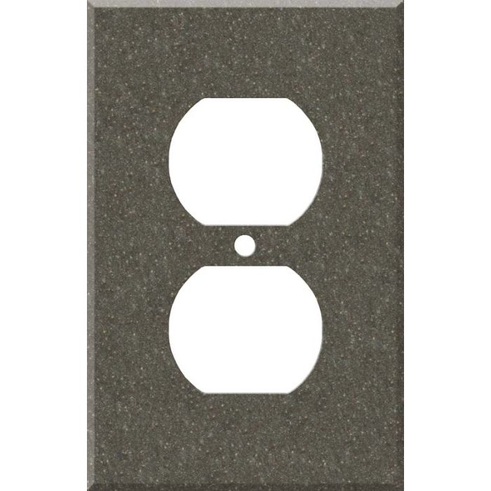 Corian Canyon 1 Gang Duplex Outlet Cover Wall Plate