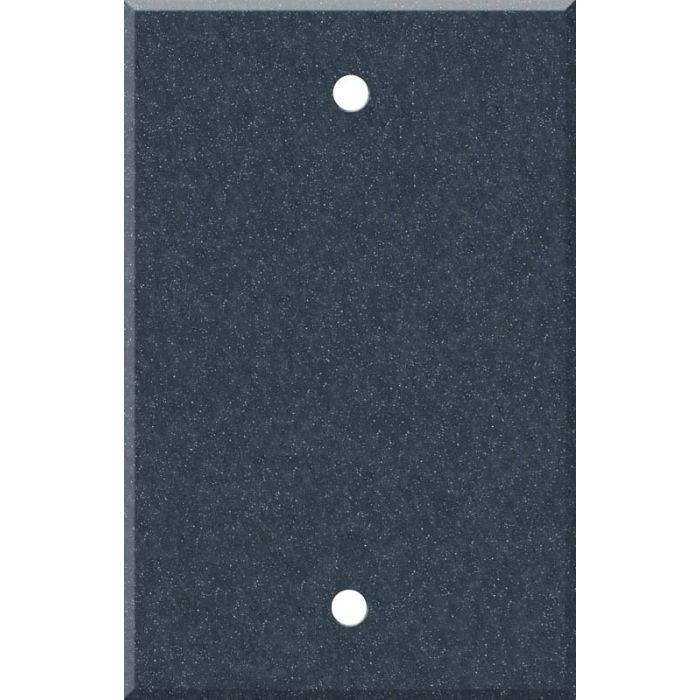 Corian Cobalt 1 Gang Blank Wall Plates