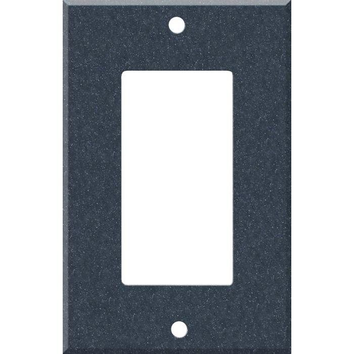 Corian Cobalt 1-Gang GFCI Decorator Rocker Switch Plate Cover