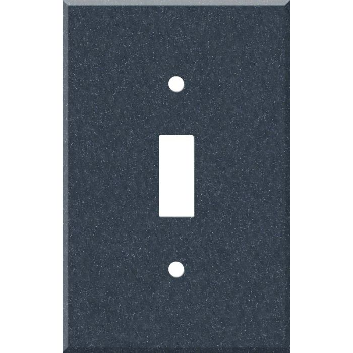 Corian Cobalt 1 Toggle Light Switch Cover