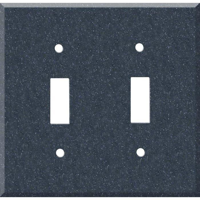 Corian Cobalt 2 Toggle Switch Plates
