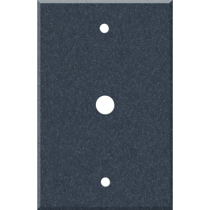 Corian Cobalt Coax Cable TV Wall Plates