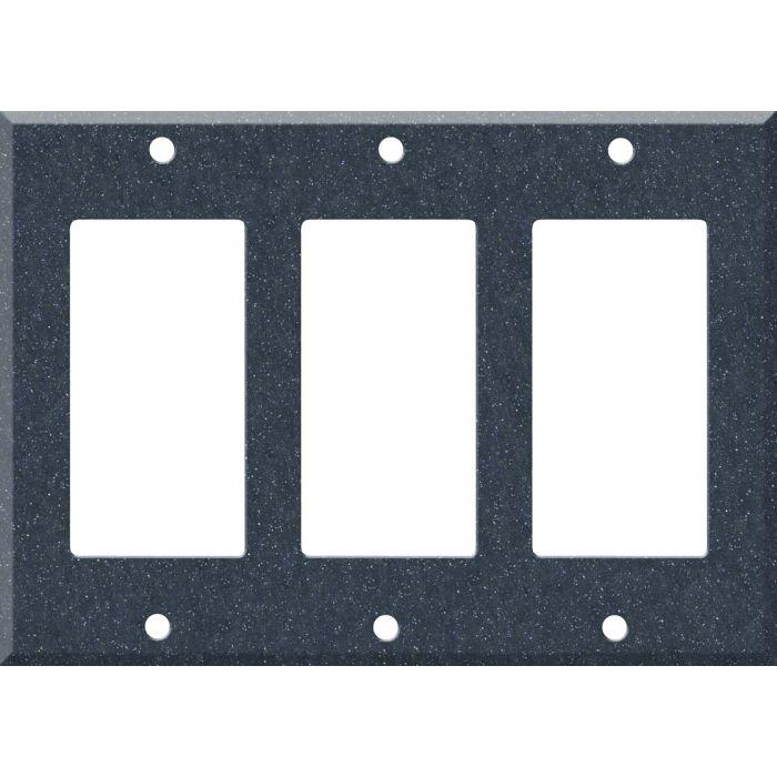 Corian Cobalt 3 - Rocker / GFCI Decora Switch Plate Cover
