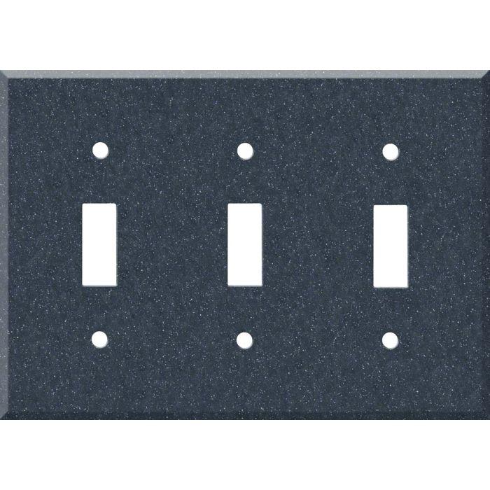 Corian Cobalt 3 - Toggle Switch Plates