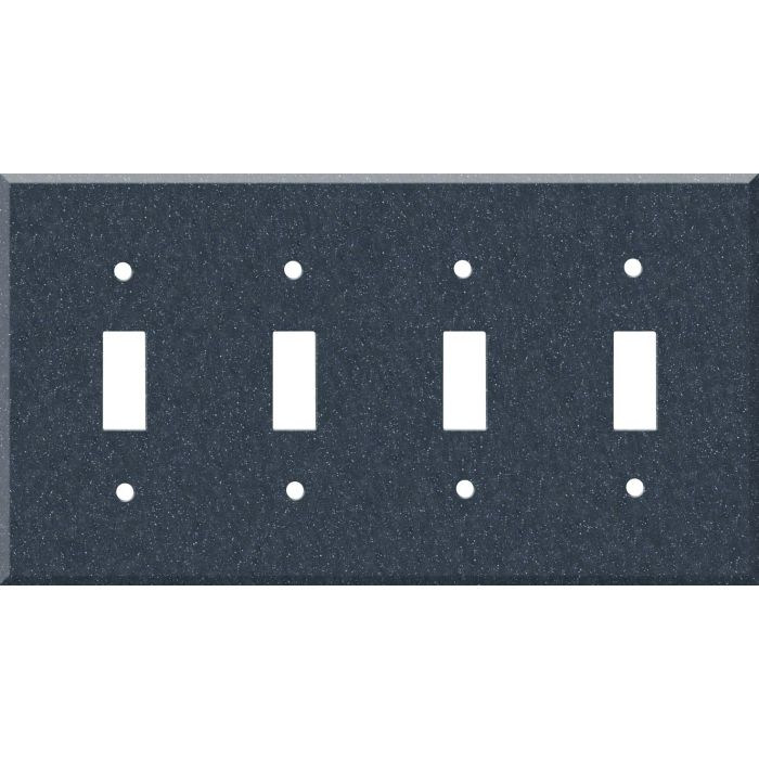 Corian Cobalt 4 - Toggle Light Switch Covers & Wall Plates