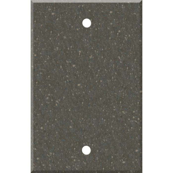 Corian Cocoa Brown Blank Wall Plate Cover