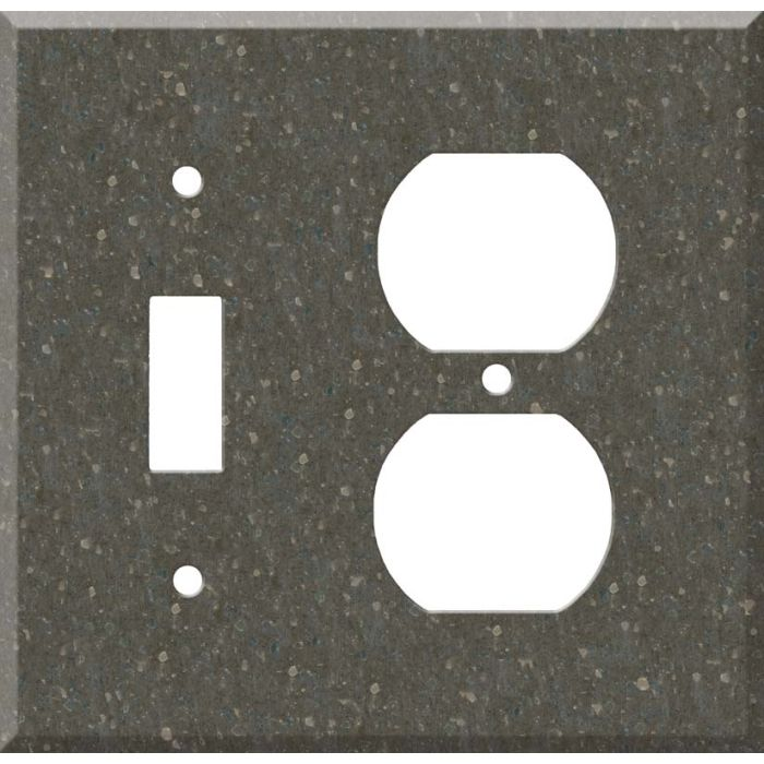 Corian Cocoa Brown Combination 1 Toggle / Outlet Cover Plates