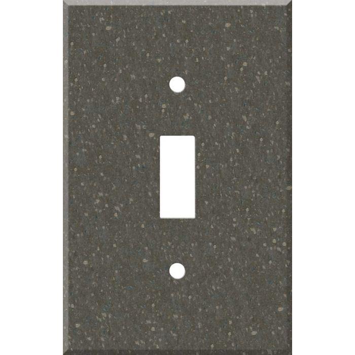 Corian Cocoa Brown Single 1 Toggle Light Switch Plates