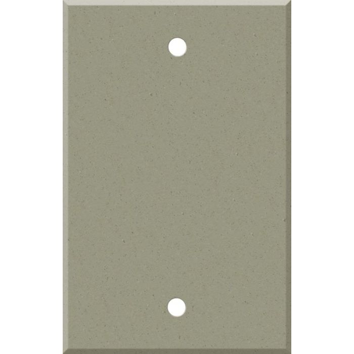 Corian Concrete Blank Wall Plate Cover
