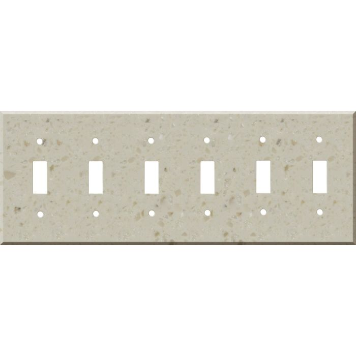Corian Cottage Lane 6 Toggle Wall Plate Covers