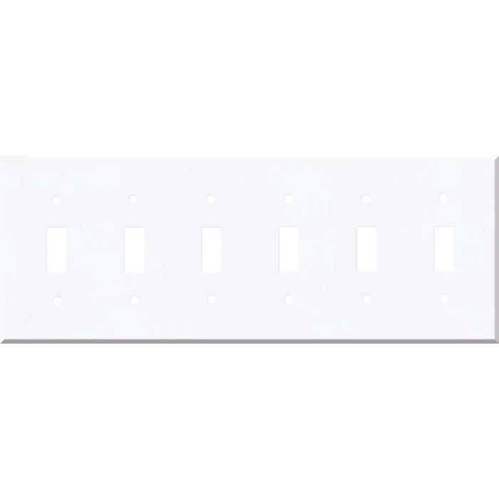 Corian Designer White 6 Toggle Wall Plate Covers