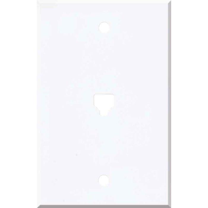 Corian Designer White 1 Toggle Light Switch Cover