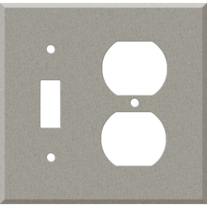 Corian Dove Combination 1 Toggle / Outlet Cover Plates