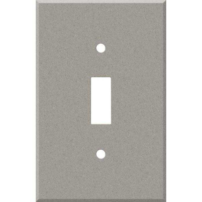 Corian Dove Single 1 Toggle Light Switch Plates
