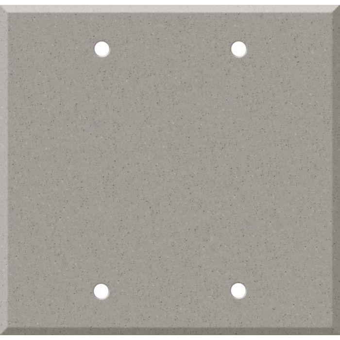 Corian Dove Double Blank Wallplate Covers