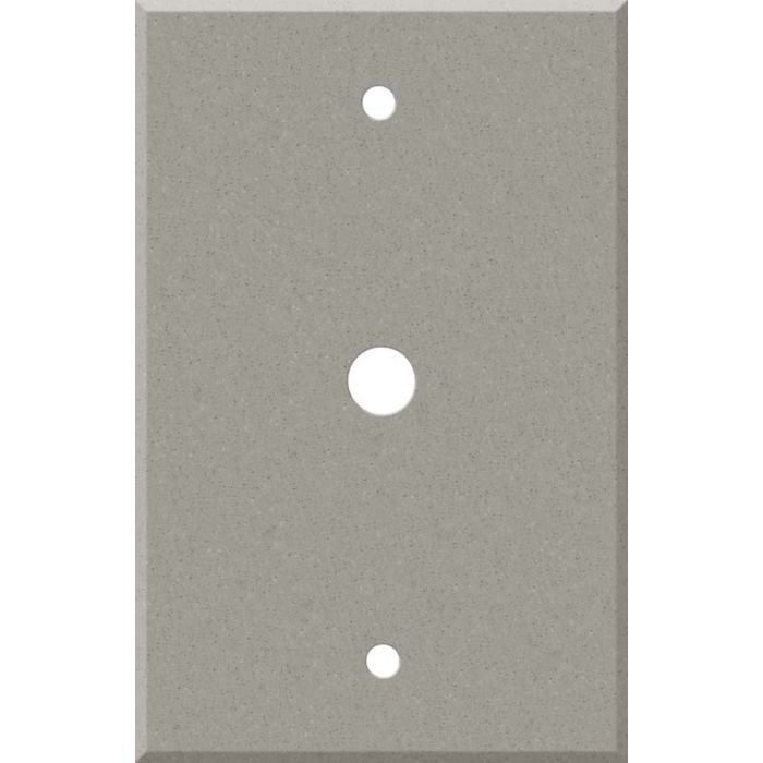 Corian Dove Coax Cable TV Wall Plates