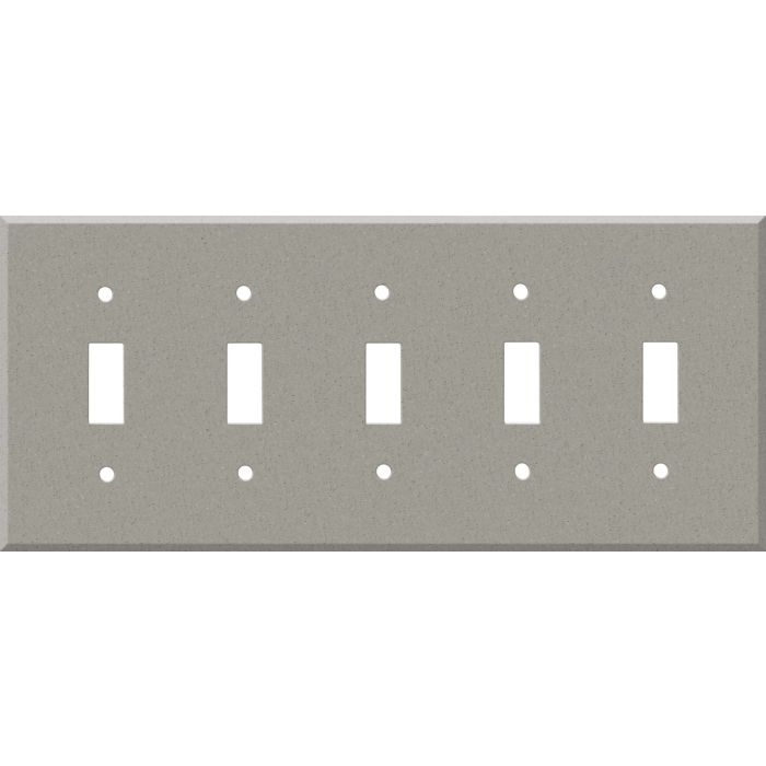 Corian Dove 5 Toggle Wall Switch Plates