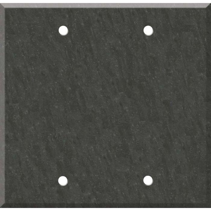 Corian Earth Double Blank Wallplate Covers