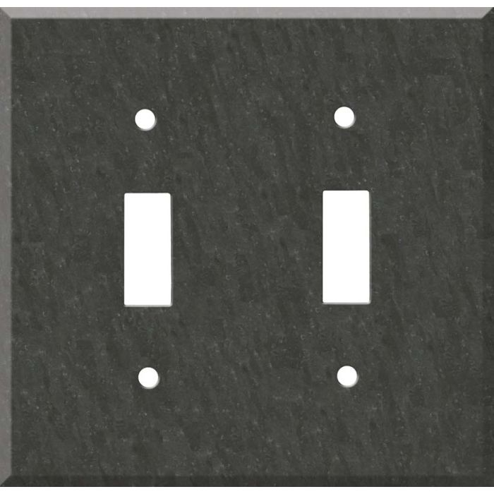 Corian Earth Double 2 Toggle Switch Plate Covers