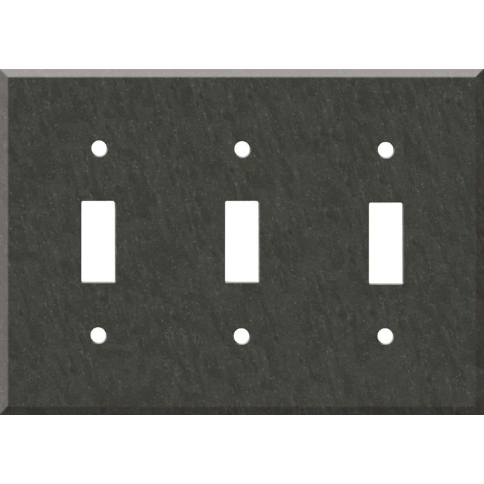 Corian Earth Triple 3 Toggle Light Switch Covers