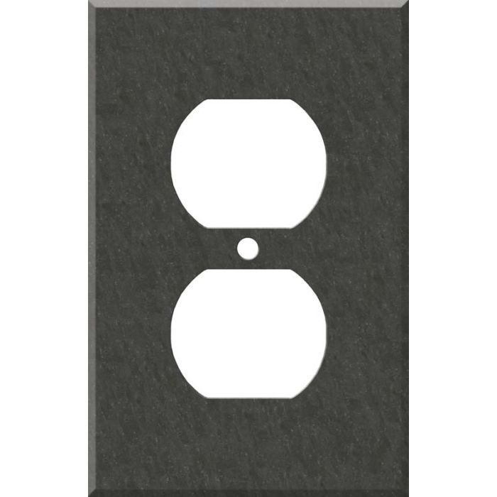 Corian Earth 1 Gang Duplex Outlet Cover Wall Plate