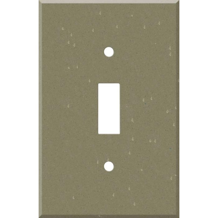 Corian Fawn 1 Toggle Light Switch Cover