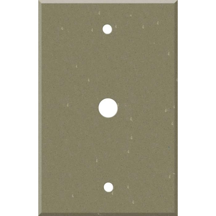 Corian Fawn Coax - Cable TV Wall Plates