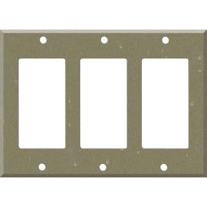 Corian Fawn 3 - Rocker / GFCI Decora Switch Plate Cover