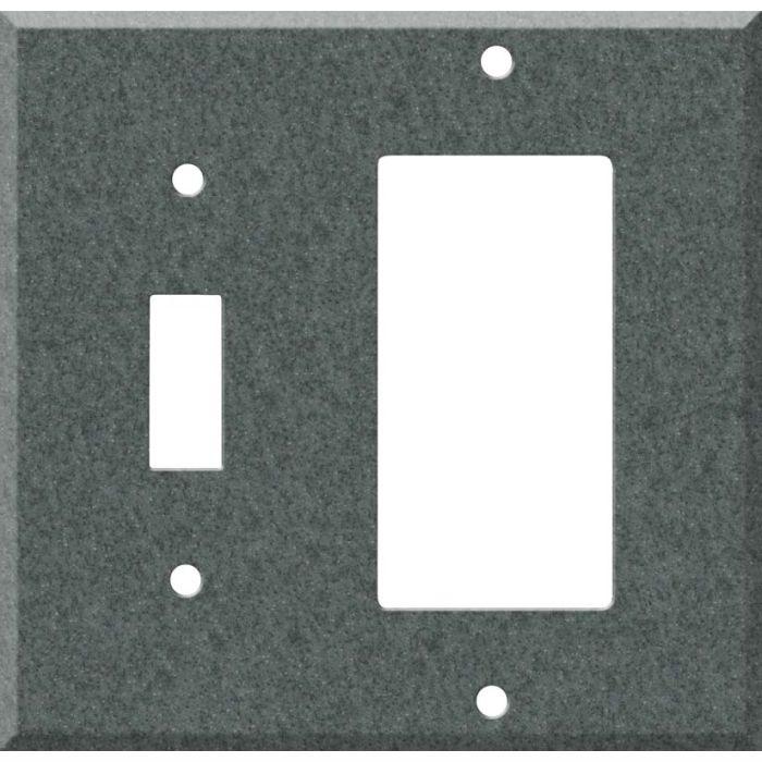 Corian Flint Combination 1 Toggle / Rocker GFCI Switch Covers