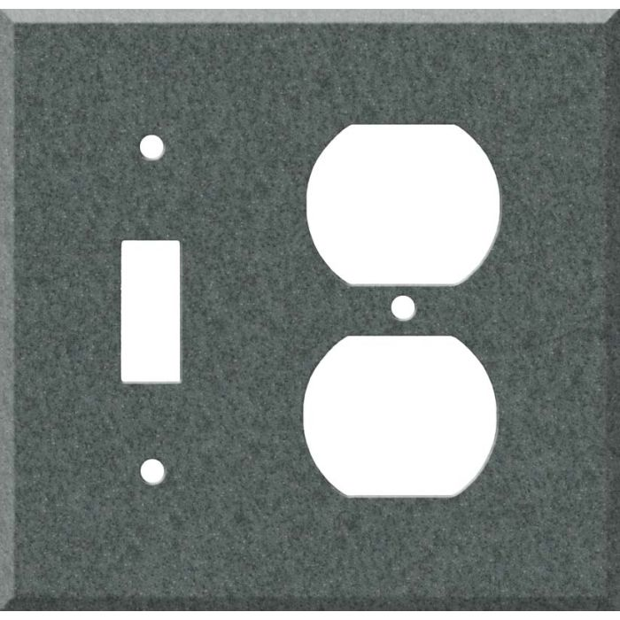 Corian Flint Combination 1 Toggle / Outlet Cover Plates