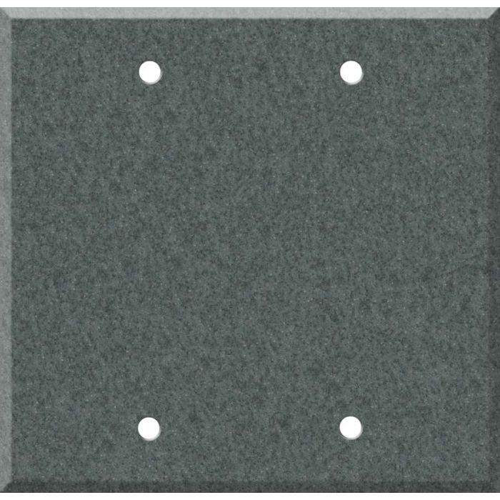 Corian Flint 2 Double Blank Wall Plates
