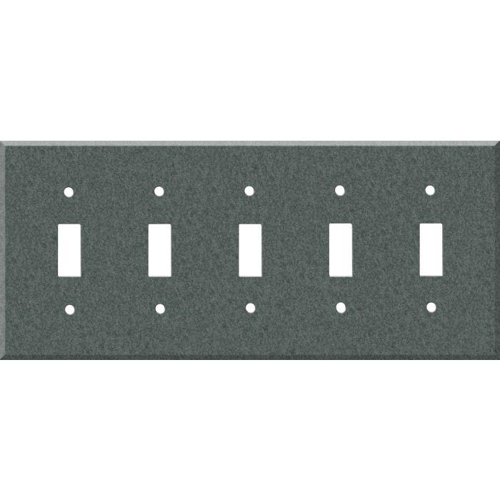 Corian Flint 5 Toggle Wall Switch Plates