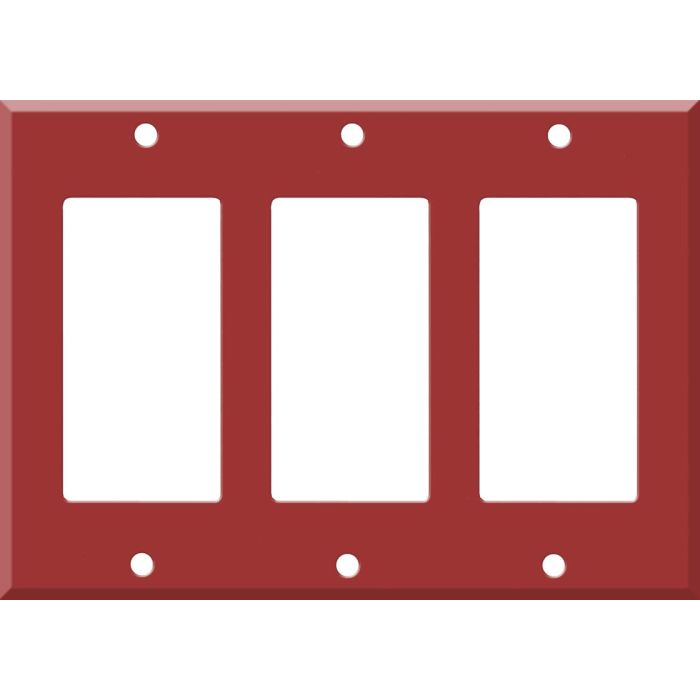 Corian Hot Triple 3 Rocker GFCI Decora Light Switch Covers