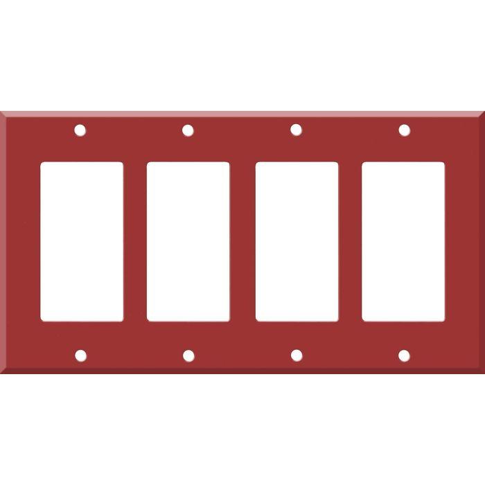 Corian Hot 4 Rocker GFCI Decorator Switch Plates