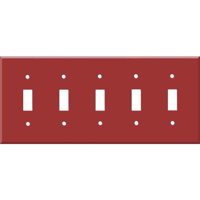 Corian Hot 5 Toggle Wall Switch Plates