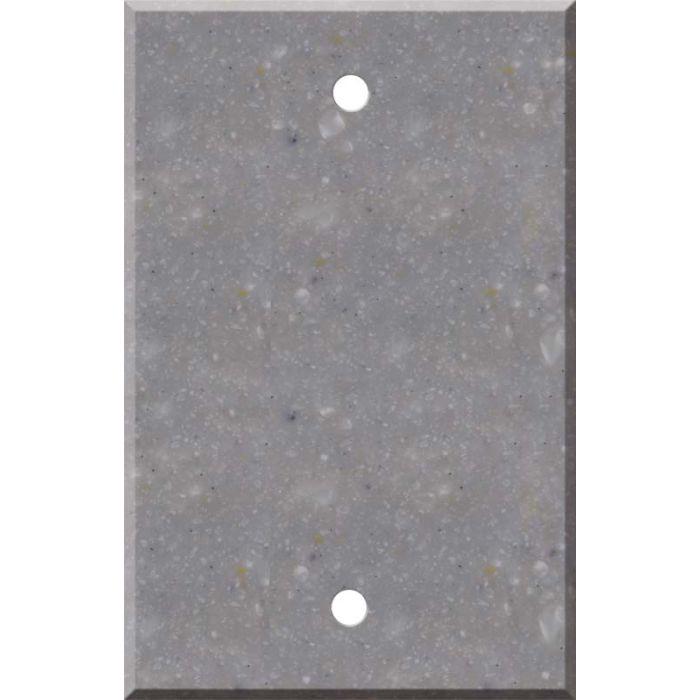 Corian Juniper 1 Gang Blank Wall Plates