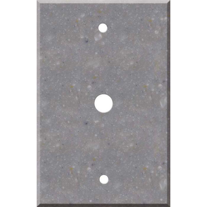Corian Juniper Coax - Cable TV Wall Plates