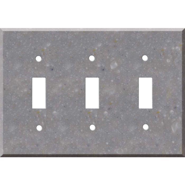 Corian Juniper 3 - Toggle Switch Plates