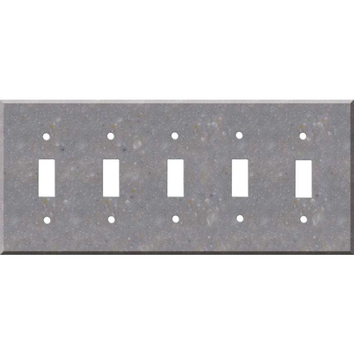 Corian Juniper 5 Toggle Wall Switch Plates