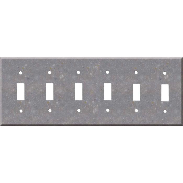 Corian Juniper 6 Toggle Wall Plate Covers